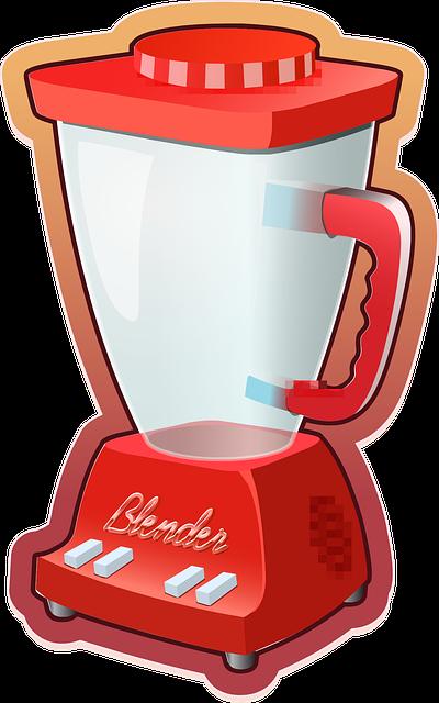 Mixer Standmixer rot