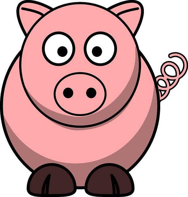 Schweinchen Rosa