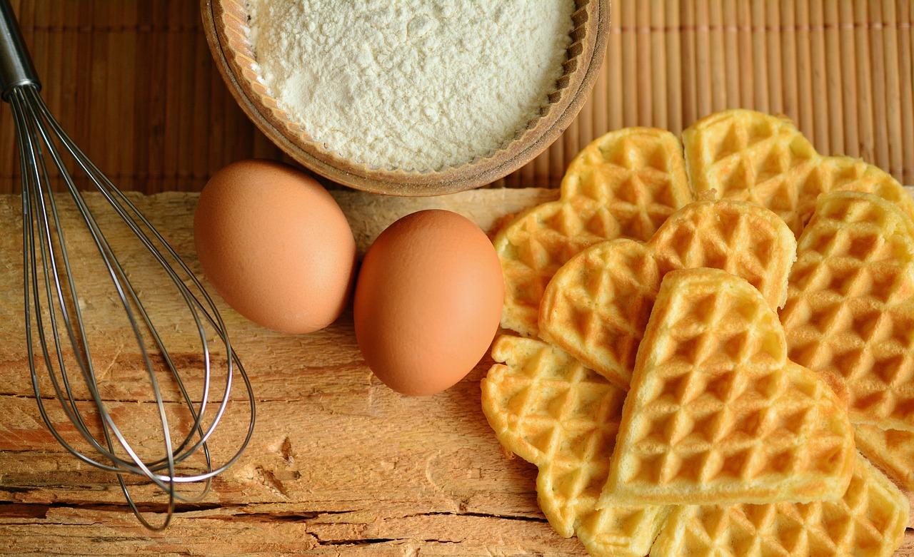 Waffeln Rezept Mehl Eier